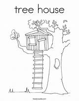 Tree Coloring Worship Pages Magic Anywhere Climb Treehouse Psalm Colouring Into Twistynoodle Template Houses Outline Cartoon Drawing Noodle Sheets Sketch sketch template