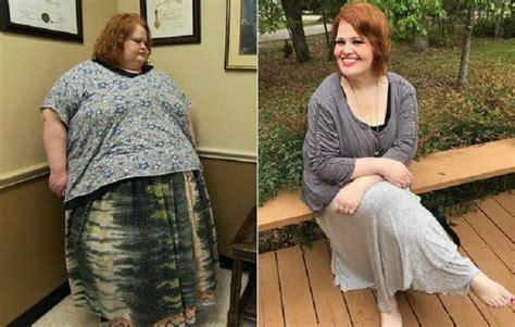 Sievietei izdevās divu gadu laikā zaudēt teju 200 kg liekā ...