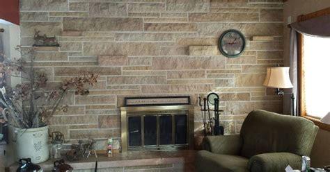Updating A Stone Fireplace Wall Hometalk