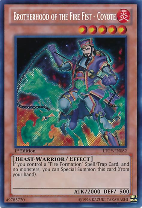brotherhood of the deck brotherhood of the coyote yu gi oh