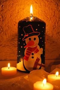 Kerzen Verzieren Weihnachten : kerzen mit kindern verzieren schneemann im lichterschein kizz ~ Eleganceandgraceweddings.com Haus und Dekorationen