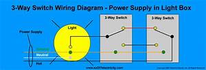 Electrical Wiring 3 Way Circuit Diagram
