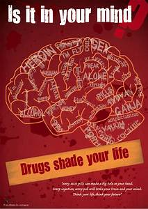 Anti drugs poster - a photo on Flickriver
