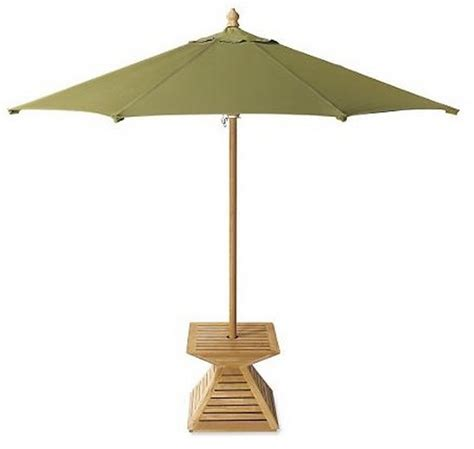 grade  indonesian teak wood umbrella stand cover base