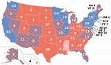 Statewide opinion polling for the United States ...