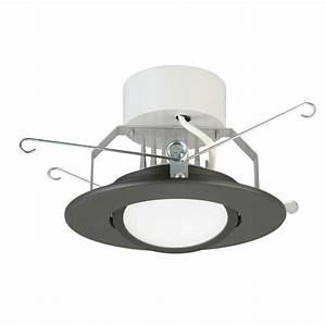 Lithonia lighting in matte black integrated led