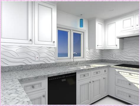 kitchen decorative fasade backsplash panels