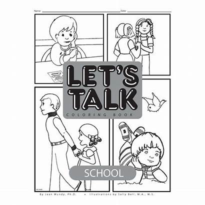 Talk Coloring Creativetherapystore Let Lets Classes Adults