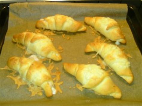 schinken kaese croissants rezept mit bild kochbarde
