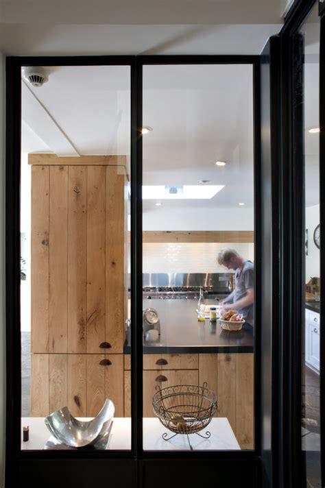 porte pour cuisine porte en verre coulissante pour cuisine