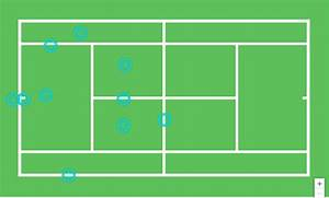 30 Diagram Of A Tennis Court Labeled