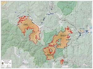 West Fork Fire Complex  Fire Maps