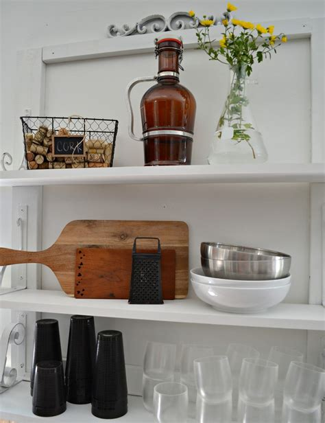 Kitchen Wall Shelves by White Wall Shelves For Effective Storage In Small Kitchen