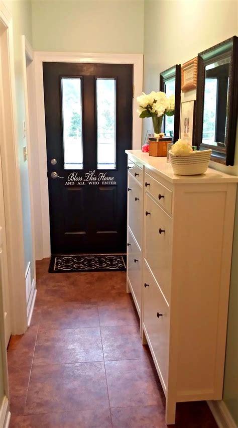 ikea hemnes shoe cabinet   hallway