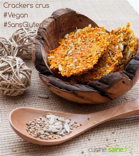 crackers de légumes crus utiliser la pulpe de l