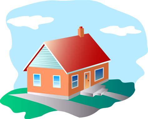 large house windows house with blue sky clip at clker com vector