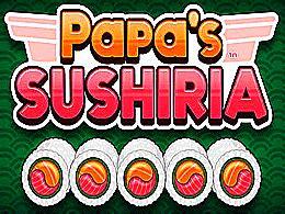 jeux de cuisine papa s papa s sushiria jeu de gestion de restaurant papa louie