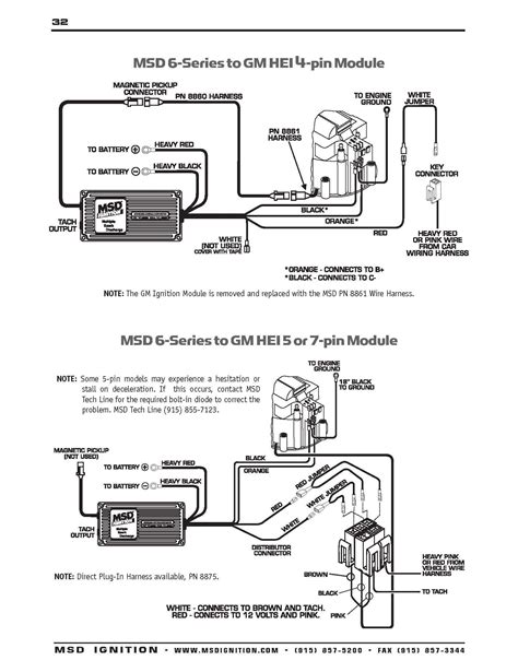 Hei Distributor Wiring Schematic Free Diagram