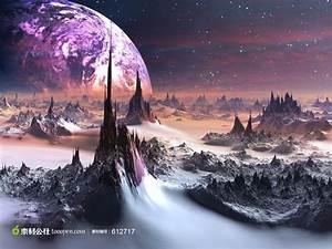 外太空星球图片 - 素材公社 tooopen.com
