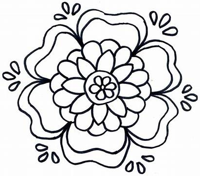 Rosemaling Coloring Pages Pattern Well Soon Patterns