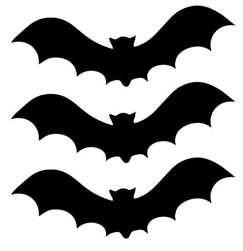 7 Best Halloween Bat Stencil Cutouts Printable