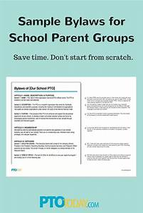 use our annotated sample bylaws to update or create new With pta bylaws template