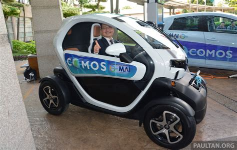 Renault Twizy - a two-seater electric