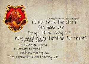 Harry Potter Ho... Hironobu Sakaguchi Quotes