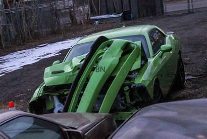 Hellcat Challenger Dodge Wrecked Crashed Colorado Crash