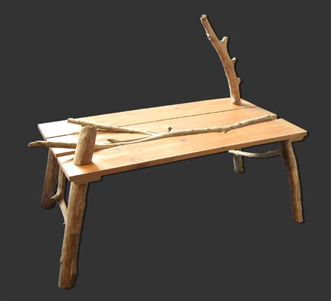 caract 232 re naturel table basse en bois flott 233