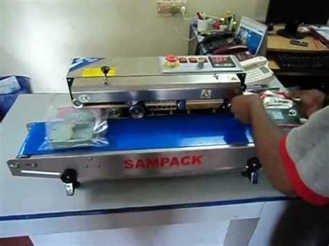 pouch sealing machine youtube