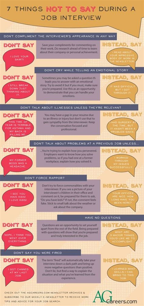7 things not to say during a infographic