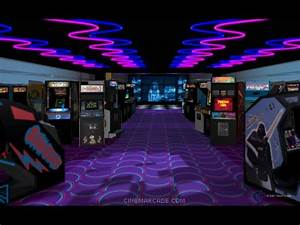 '80s Nightlife: Arcades Mirror80