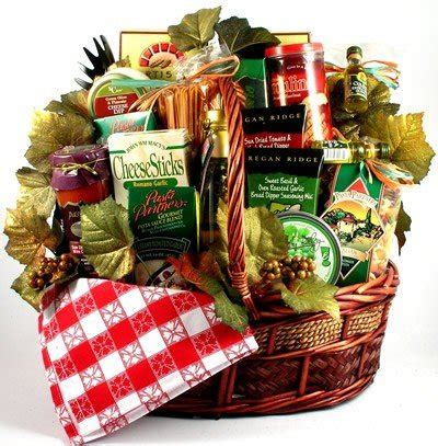 italian imports deluxe italian foods gift basket mens gift