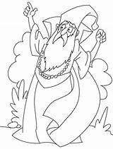 Wizard Coloring Pages Printable Clipart Angry Magician Sheets Books Getcoloringpages Library Clip sketch template