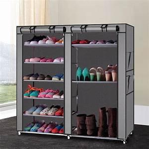 Ktaxon, Portable, Shoe, Rack, Boot, Shelf, Shelves, Storage, Closet, Organizer, Cabinet, W, Cover