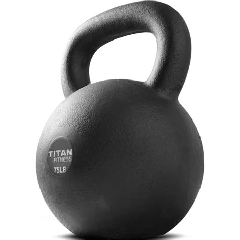kettlebell lb iron titan fitness weight cast workout swing walmart sets weights solid natural sports equipment explosive training gym
