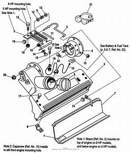 Simplicity 1692372  25  5hp Parts Diagram For Nozzle  U0026 Flap Assemblies