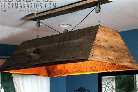 diy pool table light ideas barn wood light hanging light table light kitchen by