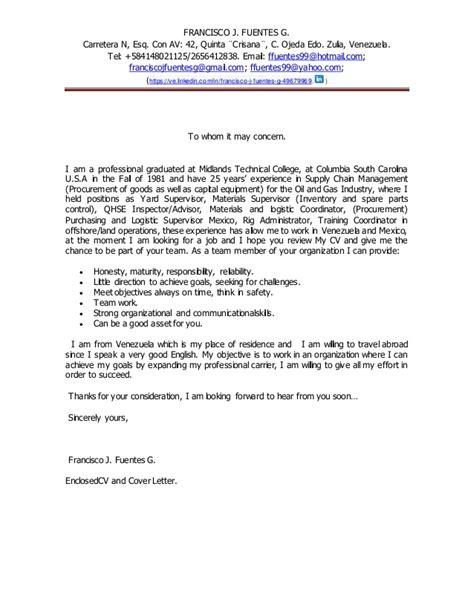 cover letter     concern engl