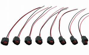 8 Ev6 Fuel Injector Wire Harness Pigtails For Jeep Grand