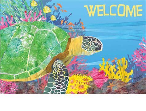 turtle doormats indoor outdoor by the sea turtle matmates doormat