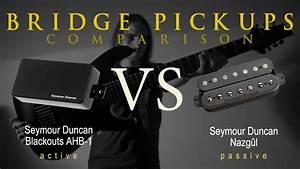 Seymour Duncan Blackouts Vs Nazgul