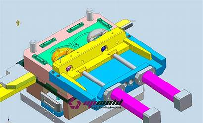 Mold Injection Upmold Elbow Moulding Molding Slide