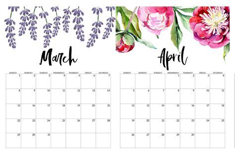 march april  calendar   holidays