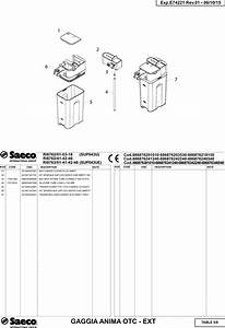 Gaggia Anima Prestige Parts Diagram User Manual