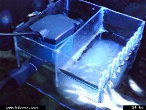 fabriquer aquarium en plexiglas aspiration de surface sans colonne de d 233 bordement aquarium r 233 cifal aquarium marin aquarium