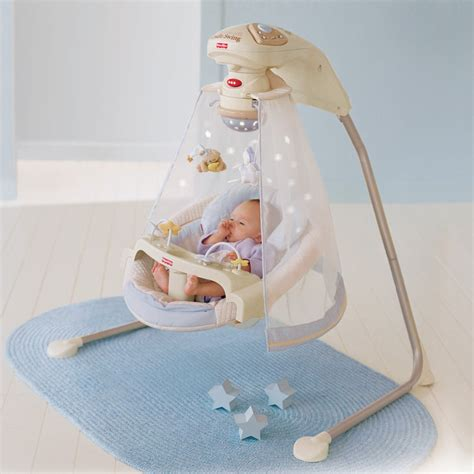 Which Baby Swings In by Fisher Price Starlight Cradle Baby Swing Baby Swings At