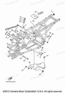 Yamaha Atv 2004 Oem Parts Diagram For Frame
