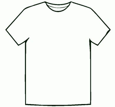29 cool T Shirt Design Template Front